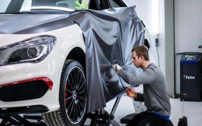 Volledige carwrap Mercedes CLA AMG